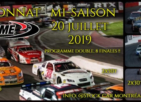 NASCAR Samedi July 20 th